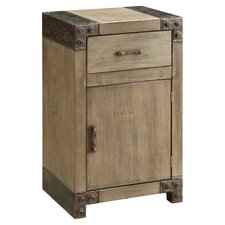 Maarten Chairside Cabinet in Natural