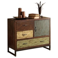 Courtland 3 Drawer Chest in Brown