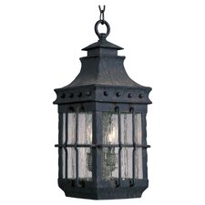 Nantucket Hanging Lantern in Country Forge