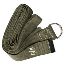 10' Yoga Strap in Forest Green