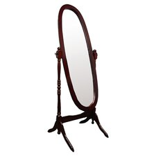 Cheval Floor Mirror in Cherry