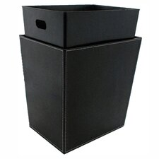 Liner Waste Basket in Black