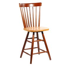 "Copenhagen 24"" Counter Stool in Cinnamon"