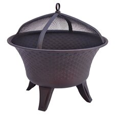 Bella Fire Pit in Speckled Bronze