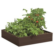 Butte Valley Raised Garden Bed in Hickory