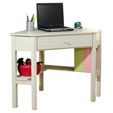 Crete Corner Writing Desk in White