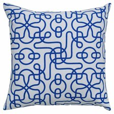 Ashley Throw Pillow in Blue