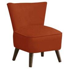 Alex Slipper Chair in Mystere Mango