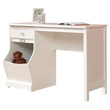Pogo Desk in Soft White