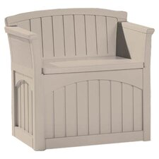 Suncast Nebo Deck Storage Seat in Taupe