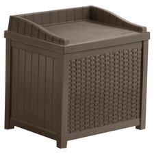 Deck Storage Seat in Brown