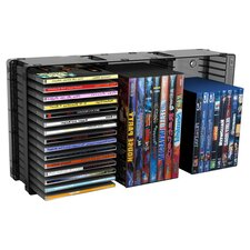 Disc Module Storage Rack in Black