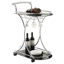 Whisper Bar Cart in Black