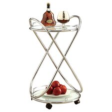 Poseidon Bar Cart in Silver