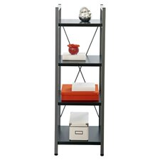 Tribeca Narrow Bookcase in Espresso