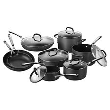 Calphalon Deluxe 14 Piece Cookware Set in Black