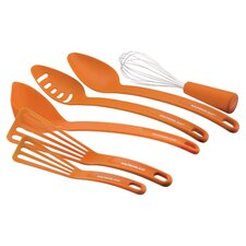 6 Piece Kitchen Tool Set in Orange