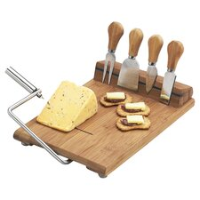 Silton 7 Piece Cheese Board Set in Natural