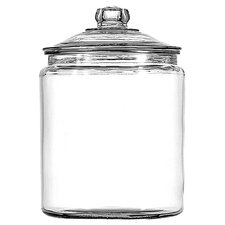 Glass Heritage Jar