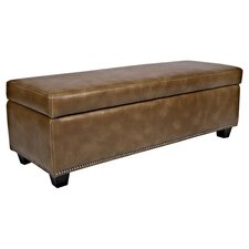 Dalton Storage Bench in Chocolate