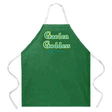 Goddess Garden Apron in Green