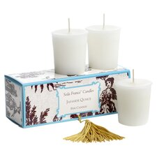 Japanese Quince Votive Candle Set