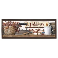 Country Laundry Wall Art
