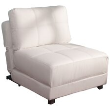 New York Convertible Lounger in White