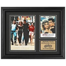 Grease Movie Memorabilia Framed Wall Plaque