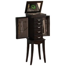 London Jewelry Armoire in Espresso