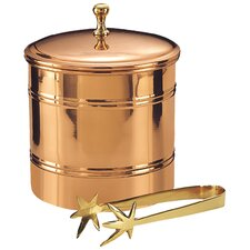 Décor Lined Ice Bucket in Copper