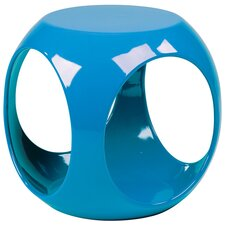 Slick End Table in Blue