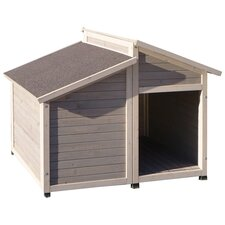 Outback Bungalow Dog House in Grey