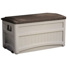 Breckenridge Abajo Deck Storage Box in Taupe & Mocha