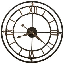 York Station Wall Clock in Dark Bronze