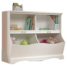 Pogo Bookcase in Soft White
