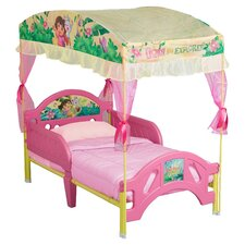 Dora the Explorer Canopy Toddler Bed in Pink