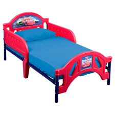 Disney Pixar Cars Toddler Bed in Red
