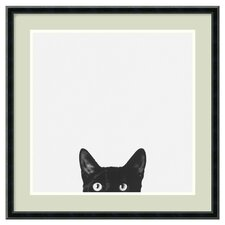 Curiosity Framed Print Art by Jon Bertelli
