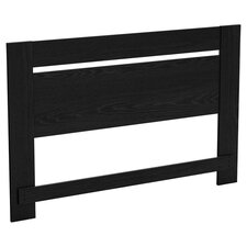 Flexible Full / Queen Panel Headboard in Black Oak