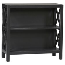 Anna Short Bookcase in Black
