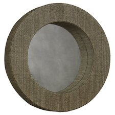Mendong Round Mirror in Natural