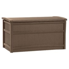 Suncast Premium Deck Storage Box in Mocha
