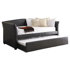 Meyer Trundle Twin Daybed in Dark Brown