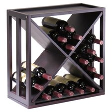 Kingston 24 Bottle Wine Rack in Espresso