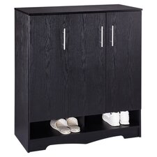 Sadie Shoe Cabinet in Black