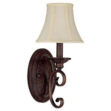 1 Light Wall Sconce in Mediterranean Bronze