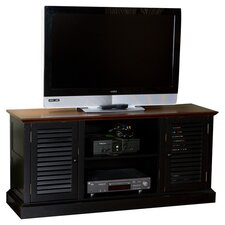 "Walker 52"" TV Stand in Black & Walnut"