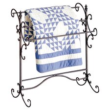 Beacon Iron Blanket Rack in Black
