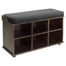 Townsend Storage Bench in Espresso